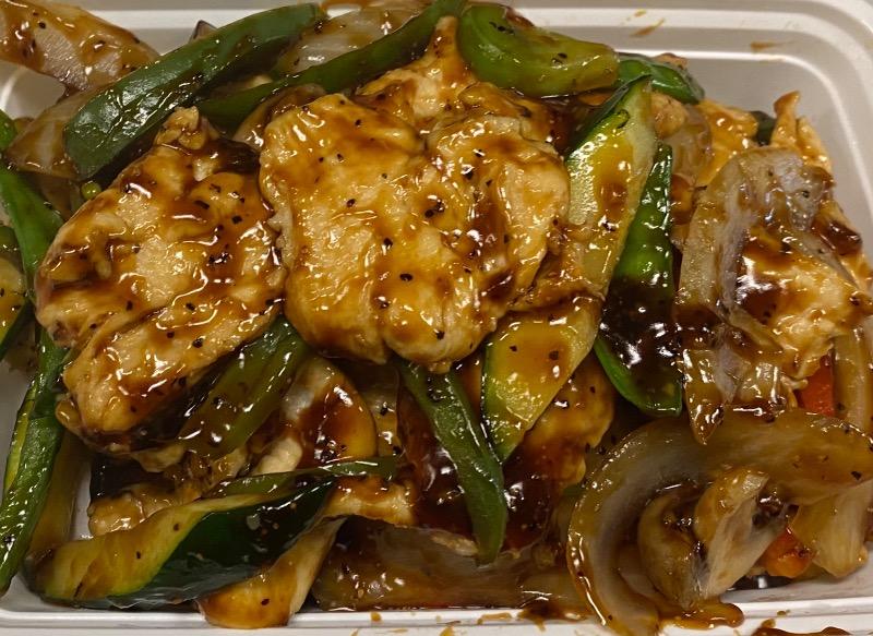 吱吱热板鸡 Chicken Sizzling Hot Plate