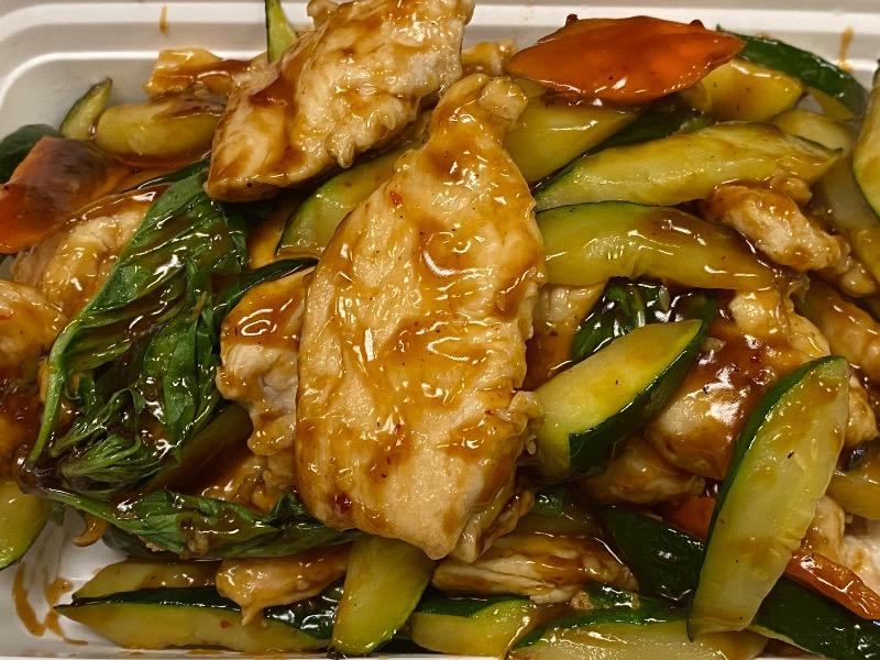 泰式水瓜鸡 Thai Zucchini Chicken