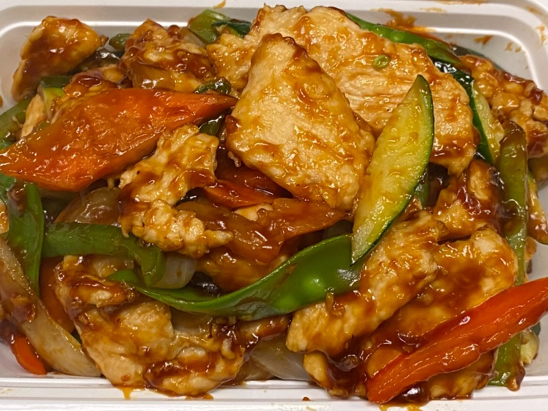 鱼香是拉差鸡 Garlic Sriracha Chicken Image