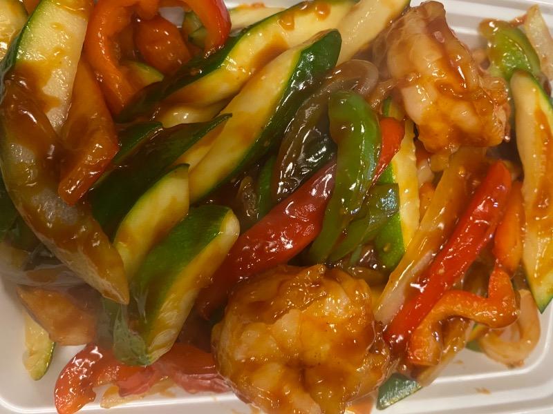 鱼香是拉差虾 Garlic Sriracha Shrimp Image