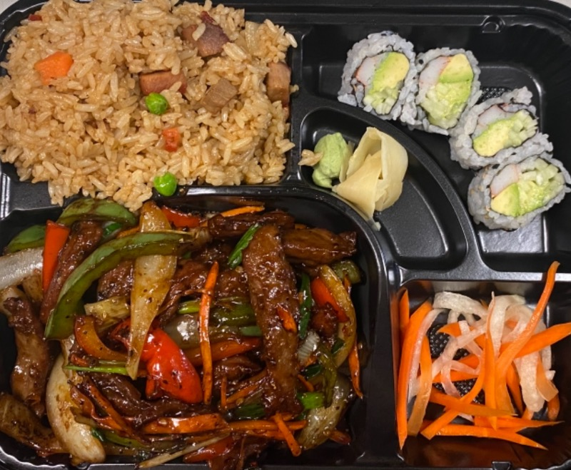 香辣牛便当 Hot & Spicy Beef Bento Box Image