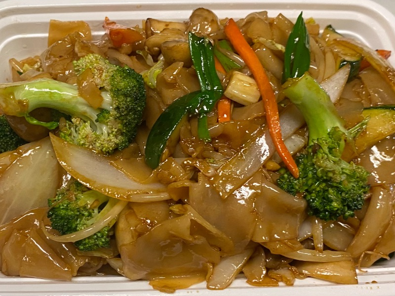 菜河粉Vegetable Chow Fun Image