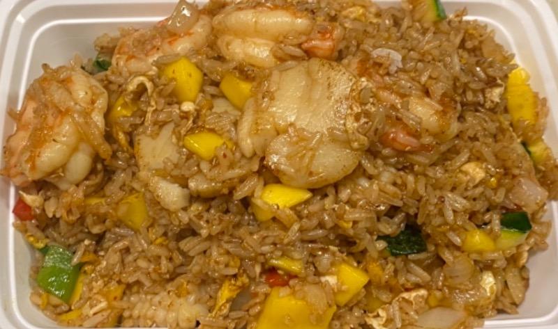 芒果炒饭 Mango Fried Rice Image