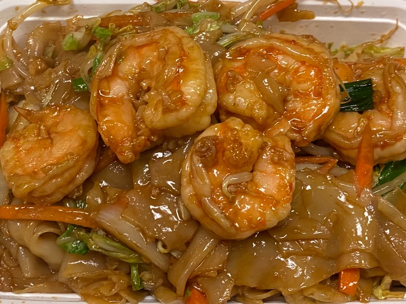 虾河粉Shrimp Chow Fun