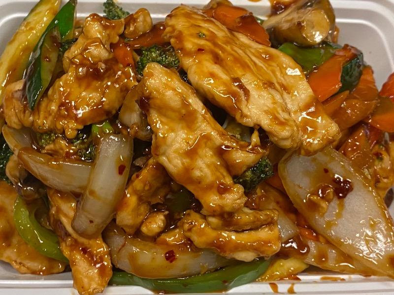 鱼香鸡 Chicken w. Garlic Sauce