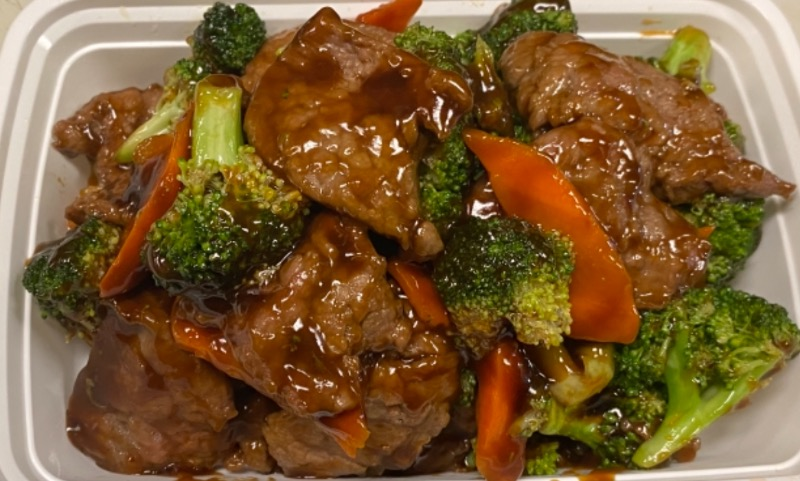芥兰牛 Beef w. Broccoli Image