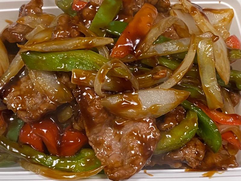 青椒牛 Pepper Steak with Onion