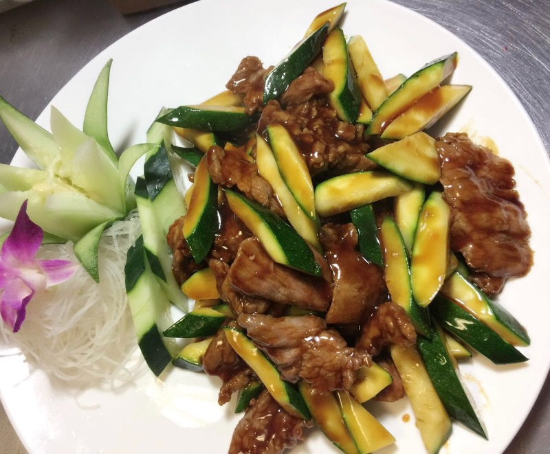 水瓜牛 Beef w. Zucchini Image