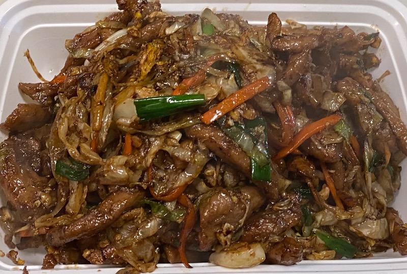 木须牛 Moo Shu Beef