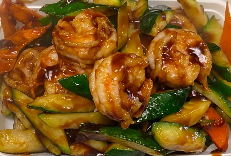 水瓜虾 Shrimp w. Zucchini