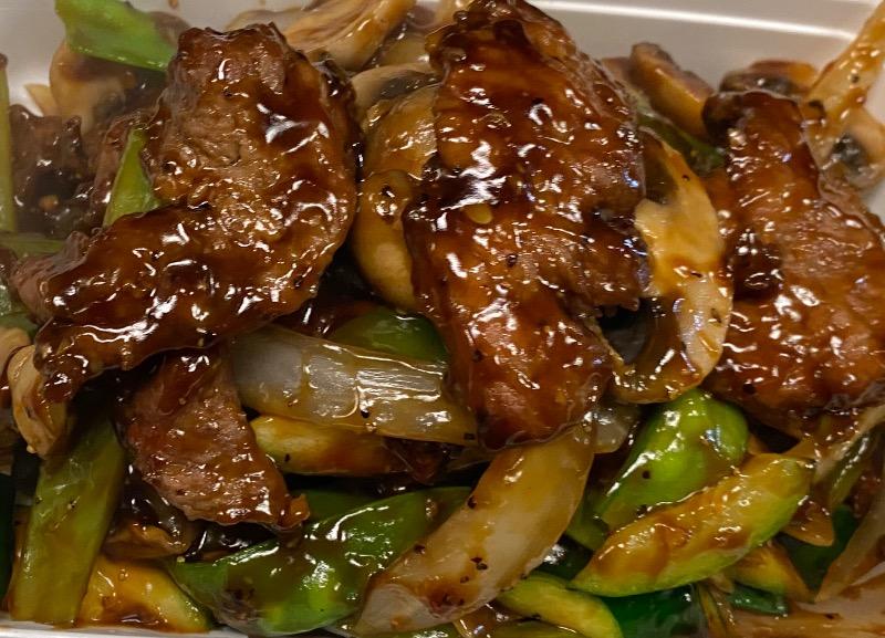 吱吱热板牛Beef Sizzling Hot Plate