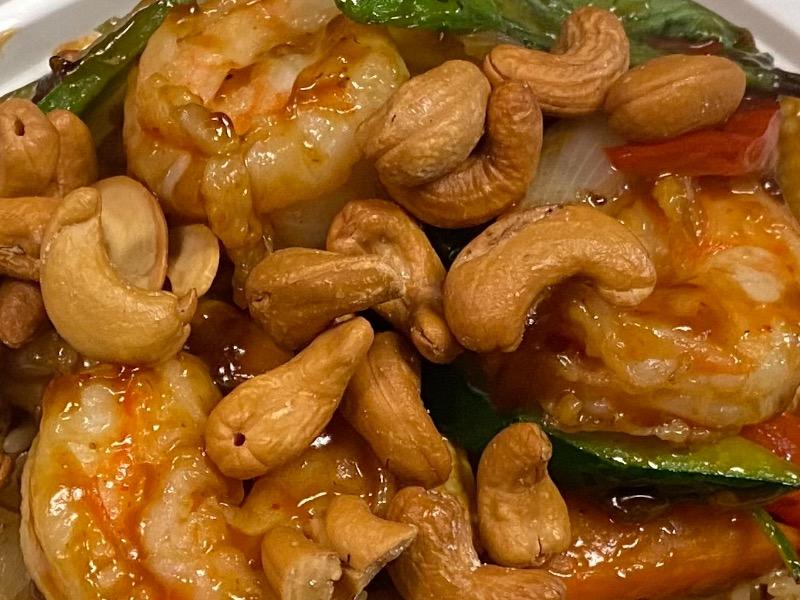 泰式腰果虾 Thai Cashew Shrimp Image
