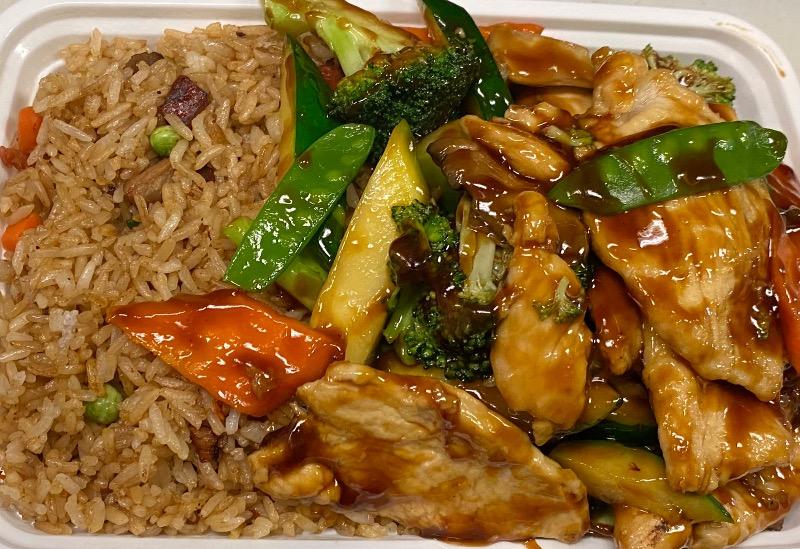 水瓜鸡 Chicken w. Zucchini Image