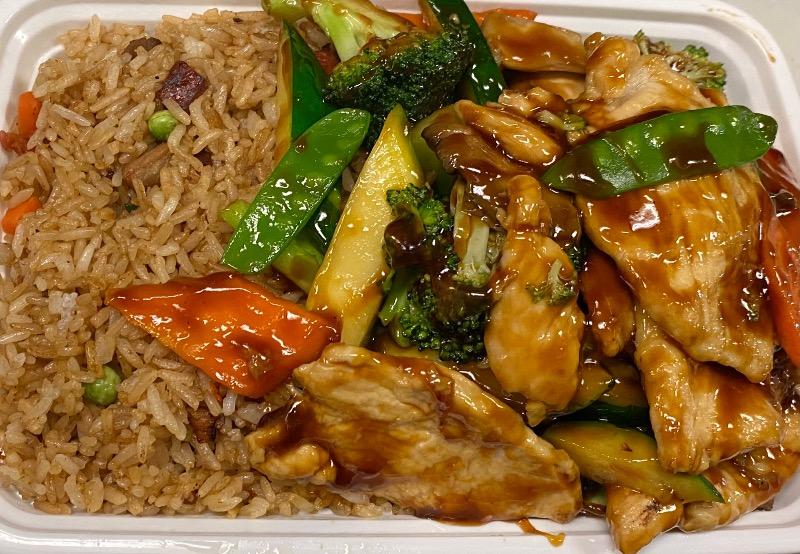 什菜鸡 Chicken w. Mixed Vegetables