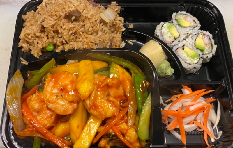 泰式凤梨虾便当 Thai Pineapple Shrimp Bento Box Image