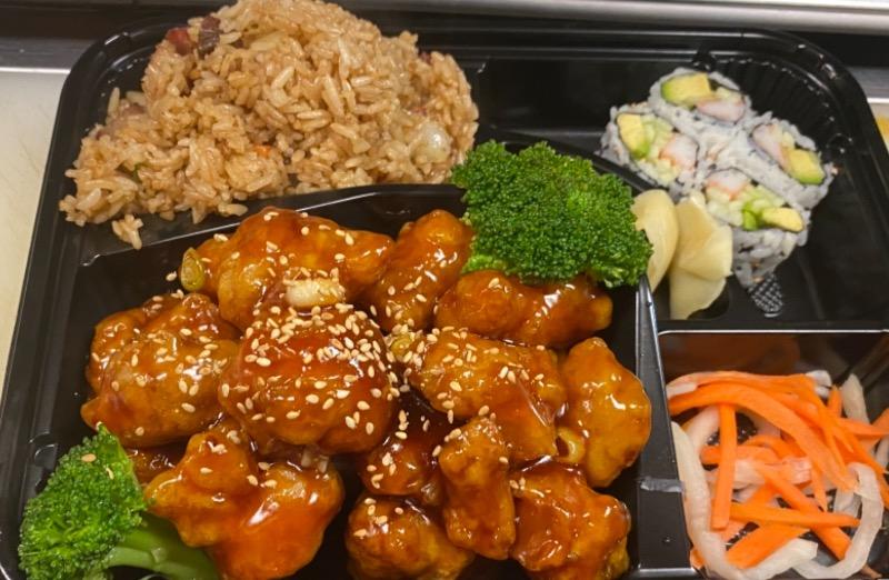 芝麻鸡便当 Sesame Chicken Bento Box Image