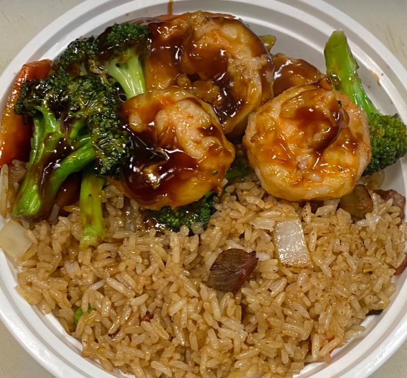 芥兰虾 Shrimp w. Broccoli Image