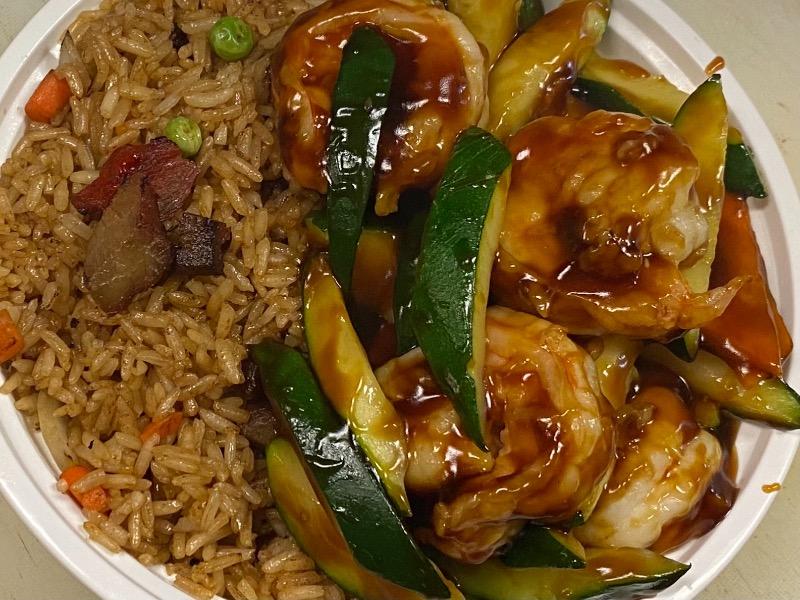 夏南瓜虾 Shrimp w. Zucchini Image