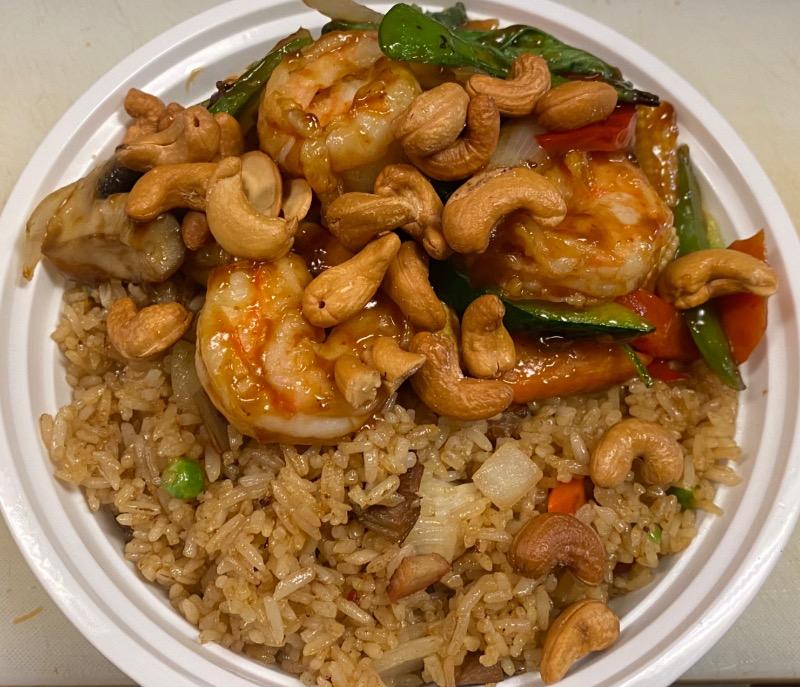 泰式腰果虾 Thai Cashew Nut Shrimp Image