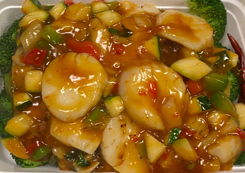 泰式辣椒干贝 Thai Chili Scallop Image