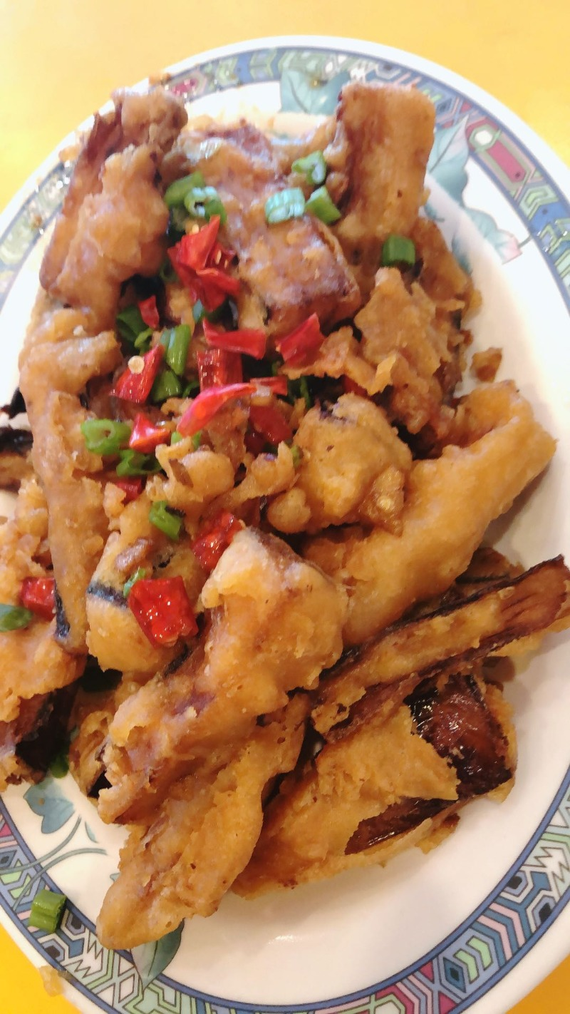 Salt & Pepper Eggplant 椒盐茄子 Image