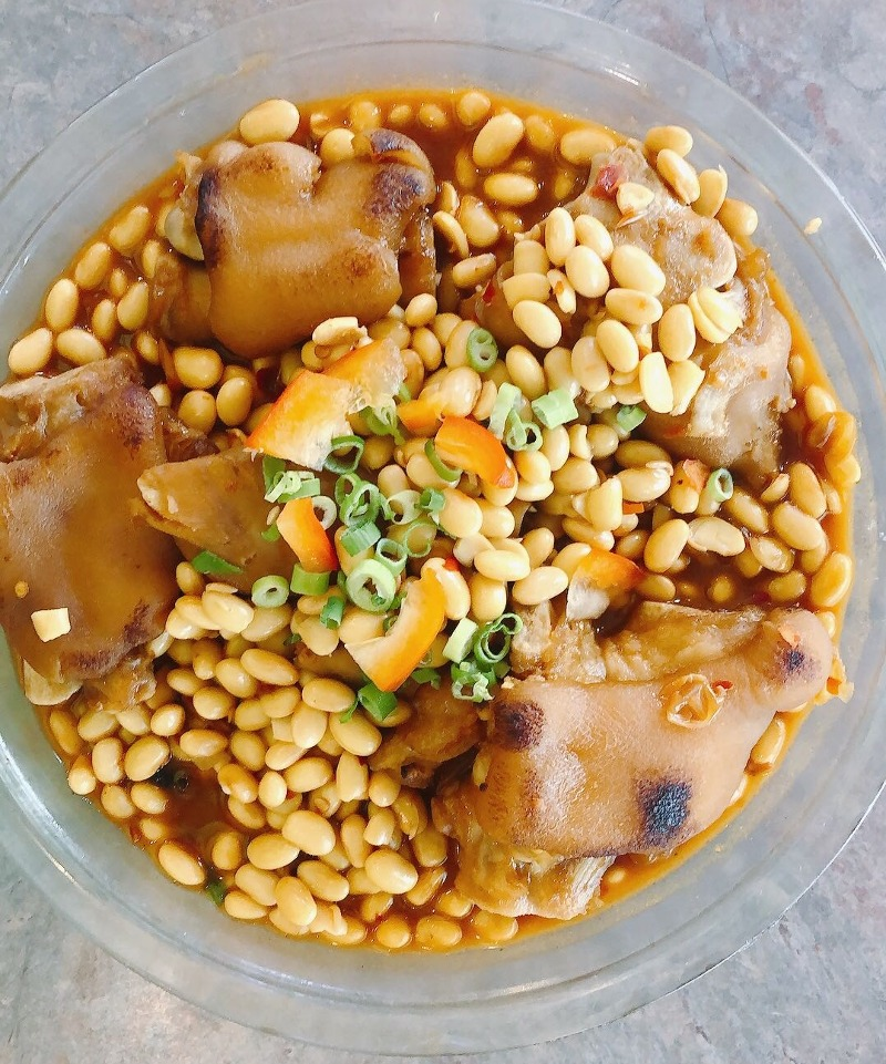 Braised Pig's Trotters Soybean 黄豆焖猪蹄 Image