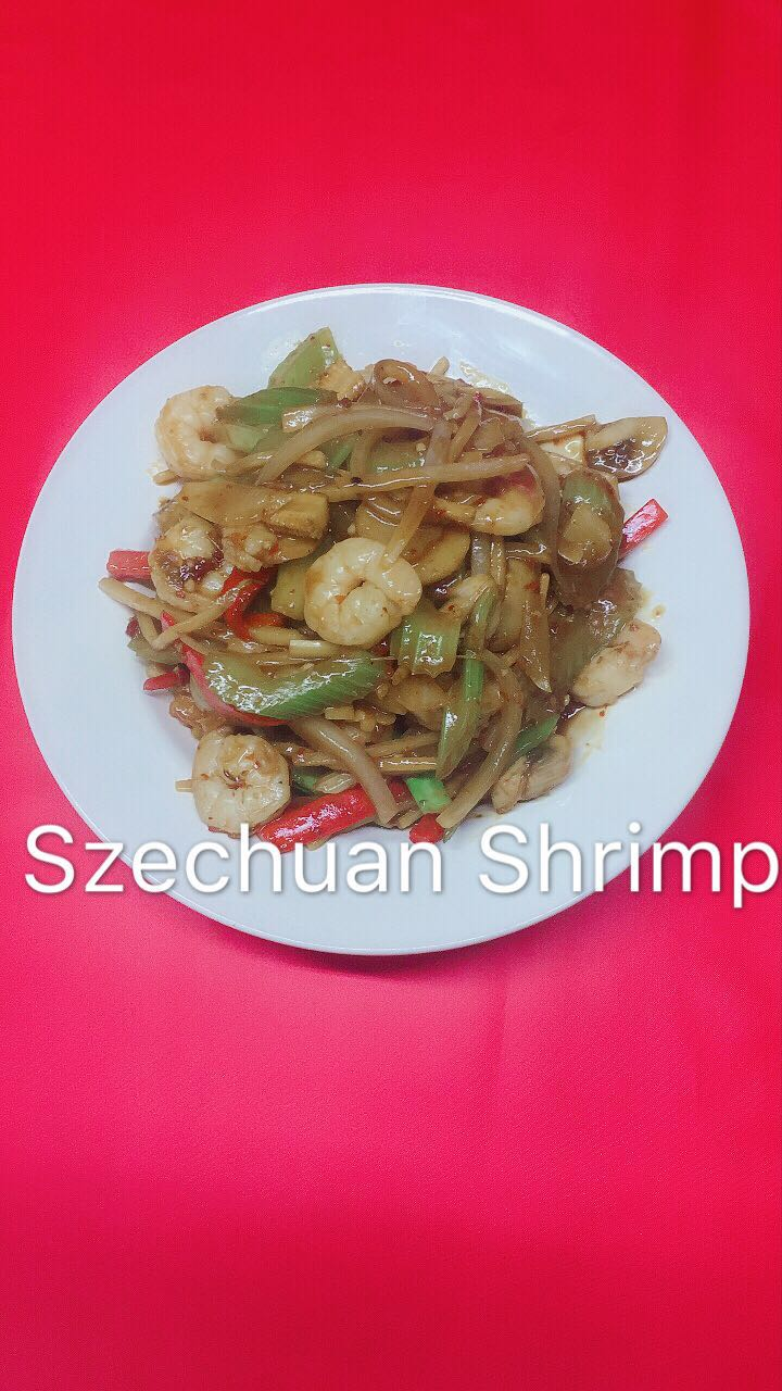 Szechuan Spicy Shrimp