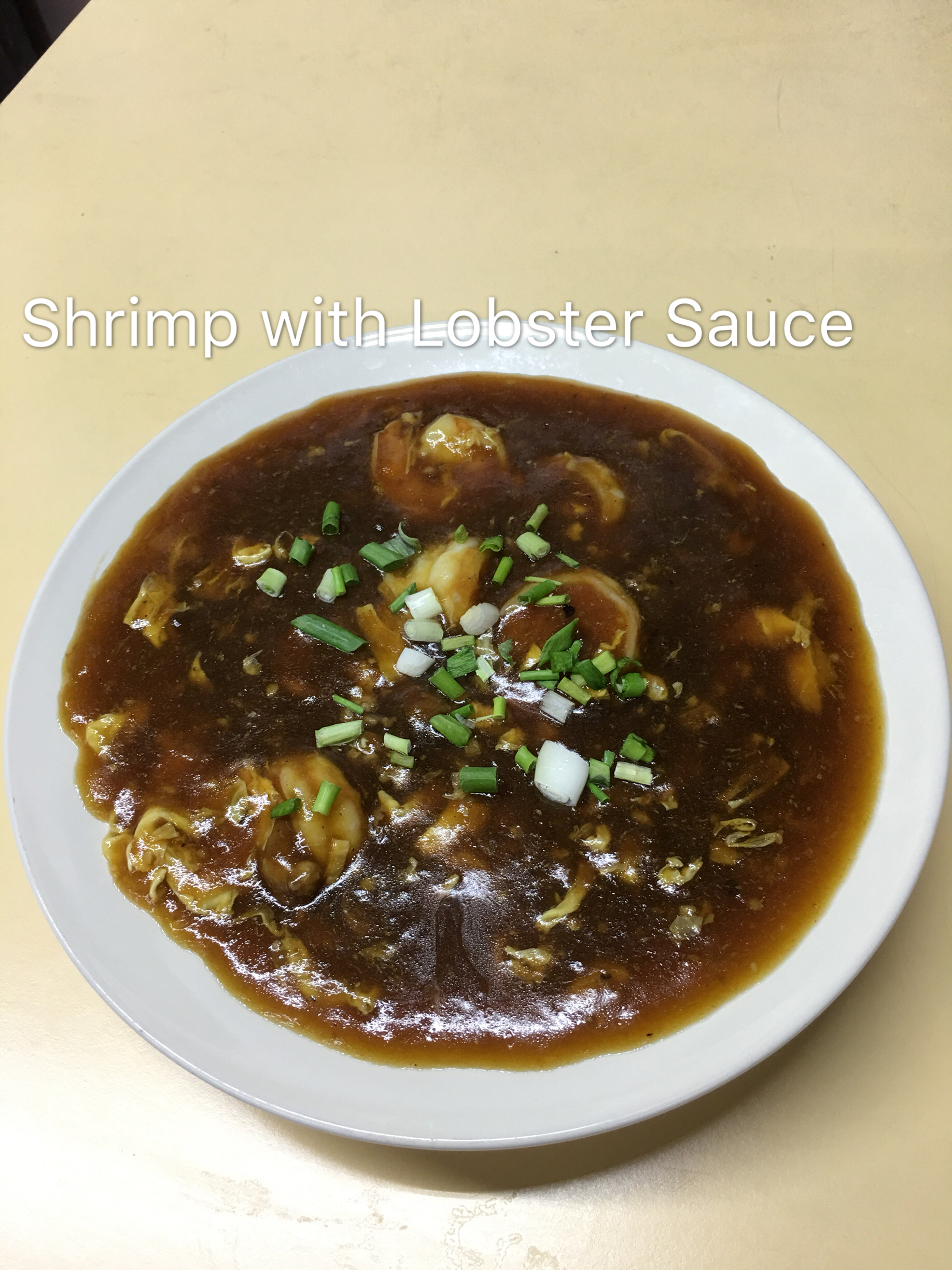 Shrimp with Lobster Sauce Image