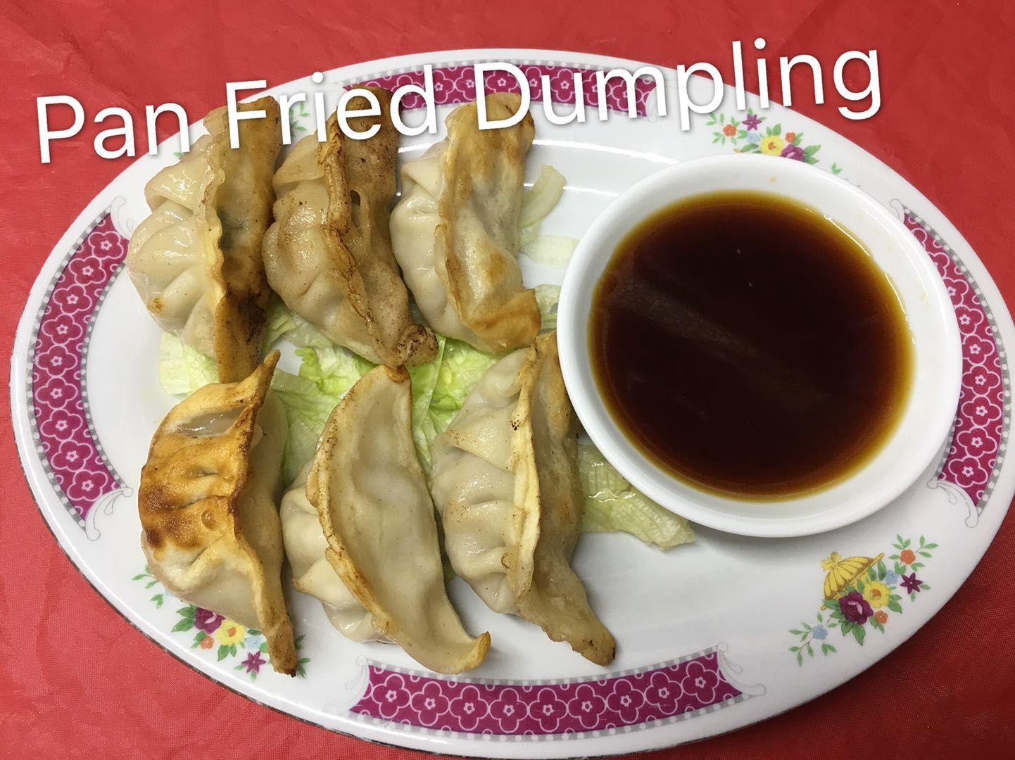 Pan Fried Dumplings (6) Image