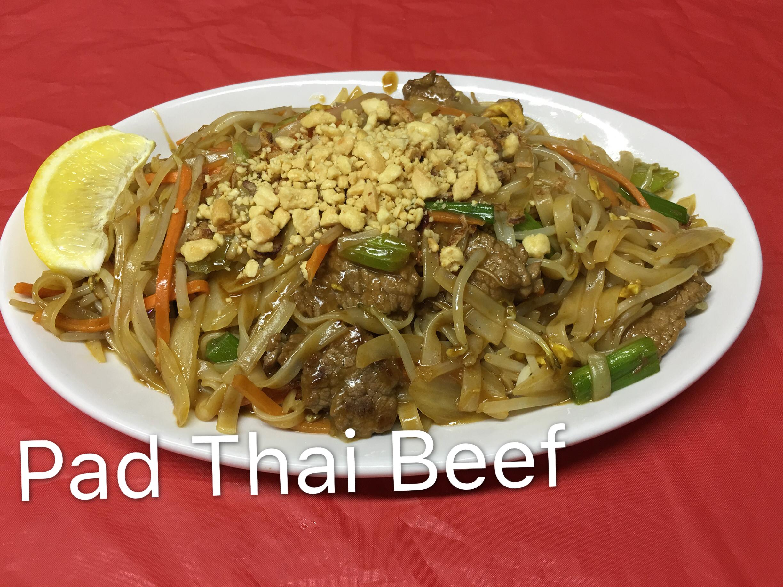 Pad Thai Beef Image