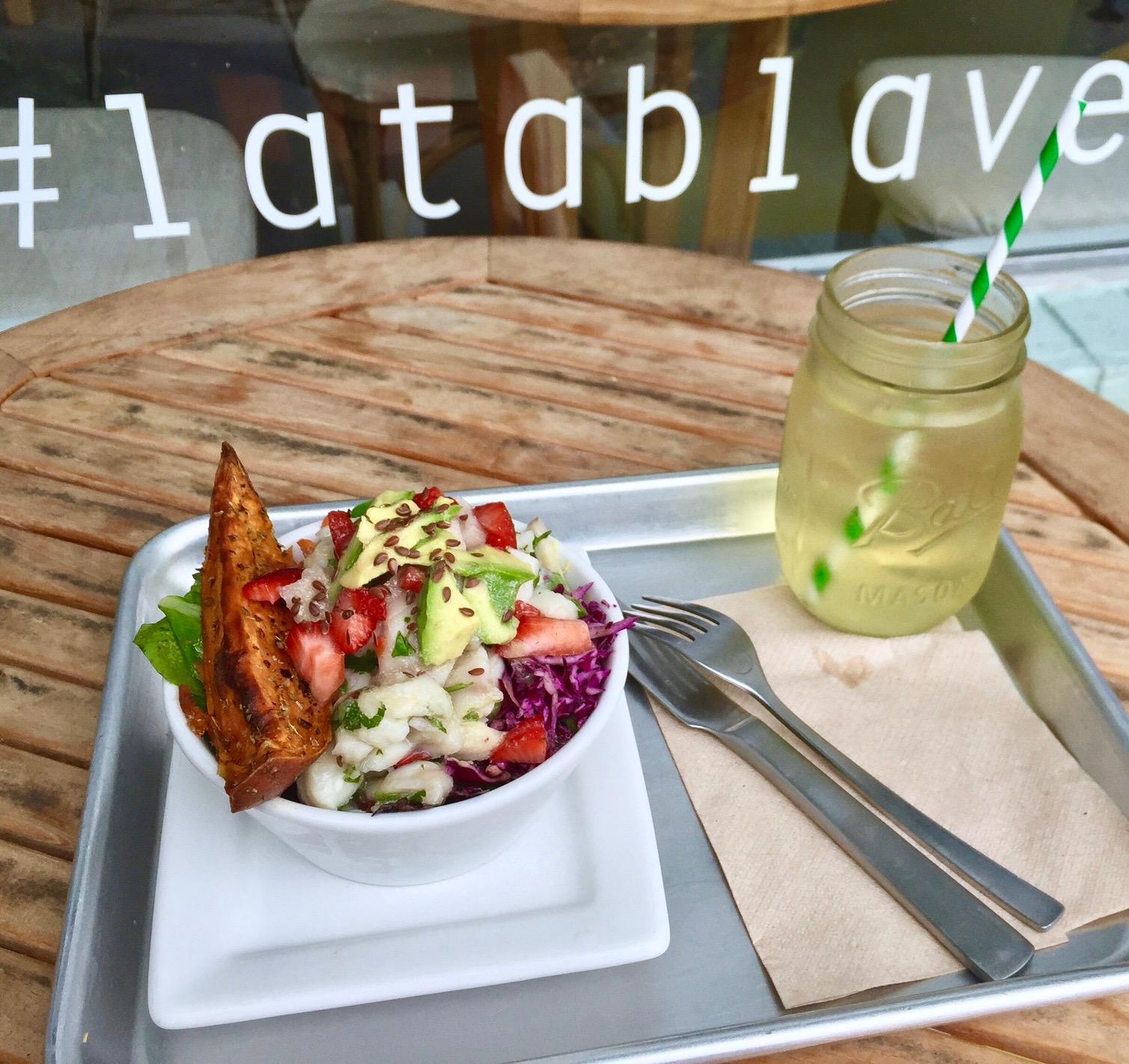 Mahi Ceviche salad