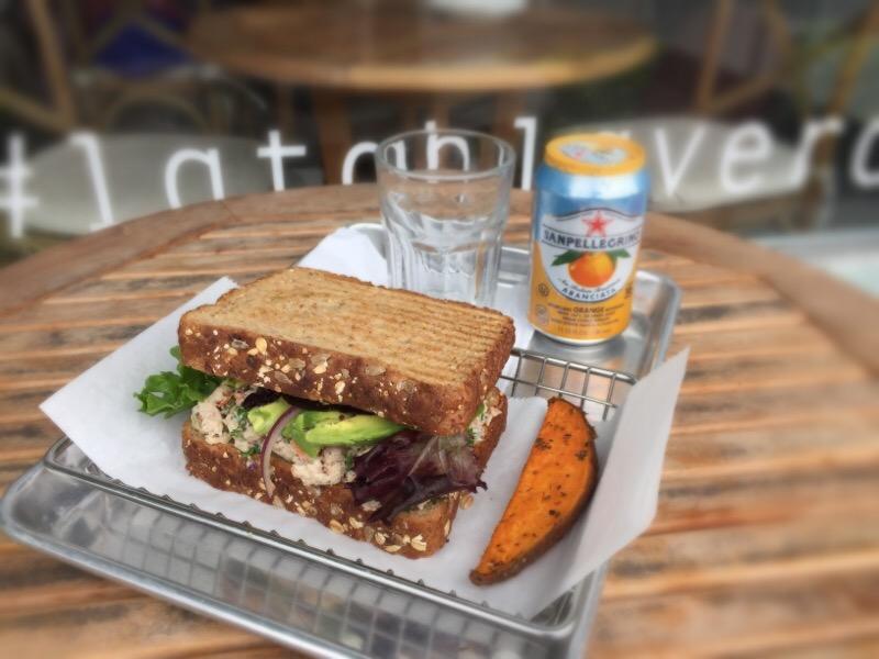 Tuna Garden Sandwich Image