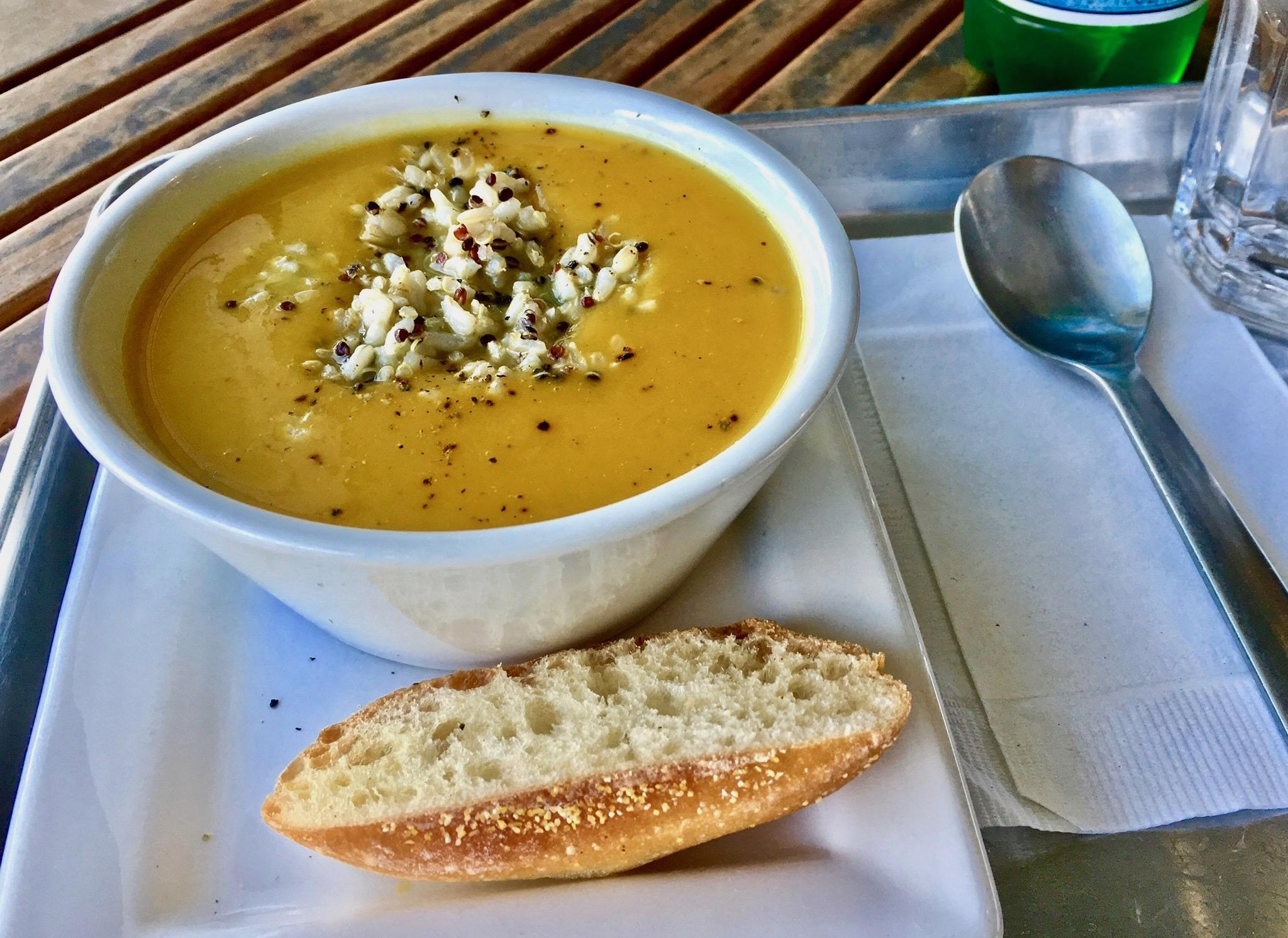 Coconut Butternut Squash Soup Image