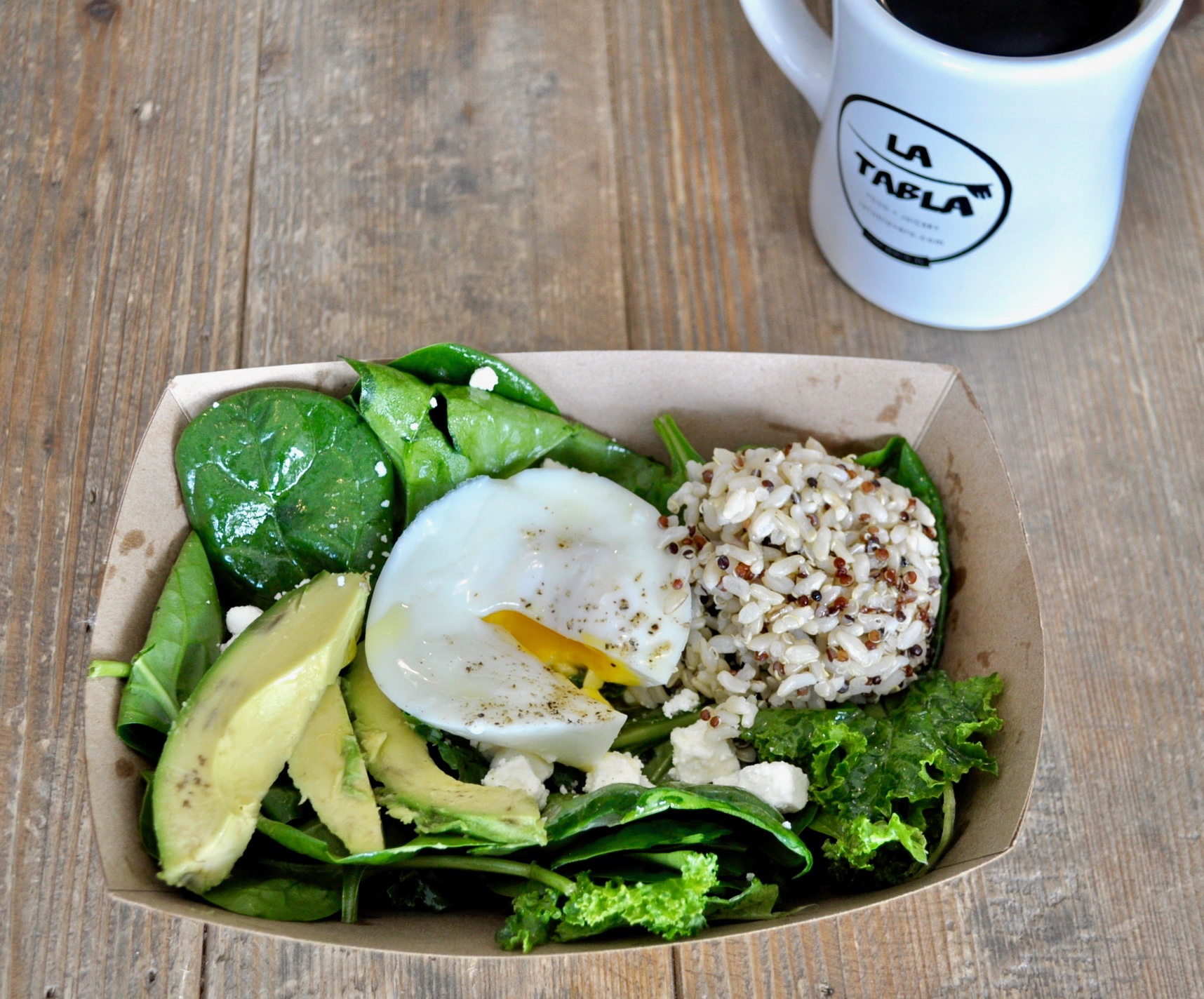The Power Bowl 1egg ( 9am - 11am)