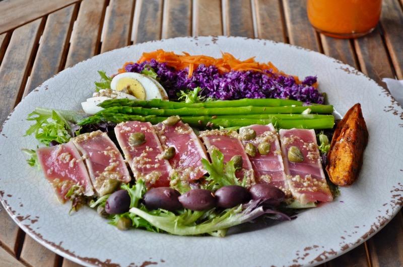 Ahi Tuna Nicoise salad