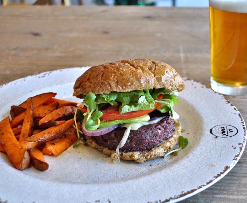 House-made Veggie Burger Image