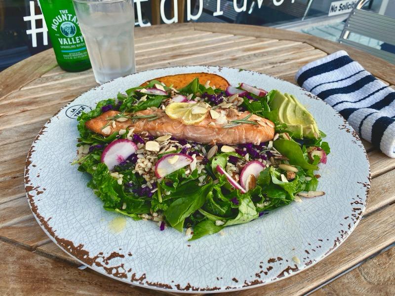 Wild Norwegian Sockeye Salmon with Kale Image