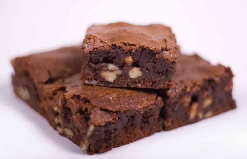 House-made Chocolate Sea Salt Brownies Image