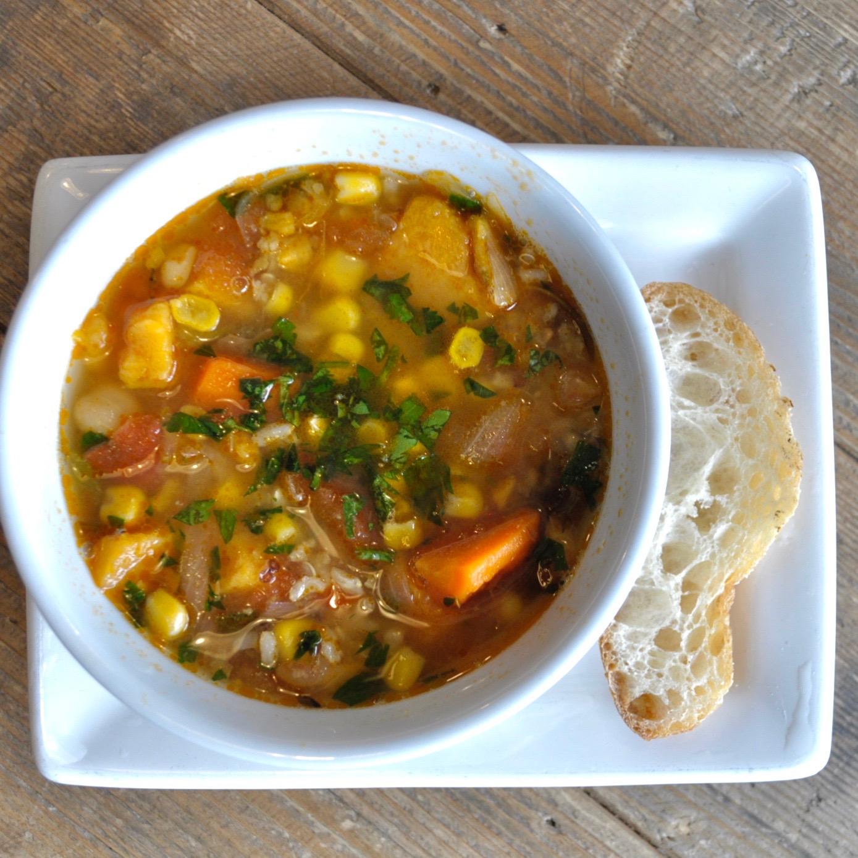 Organic black eyed pea tempeh Winter Stew