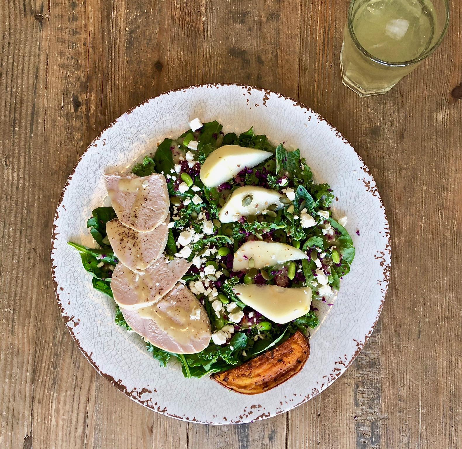 Turkey - Pear Salad