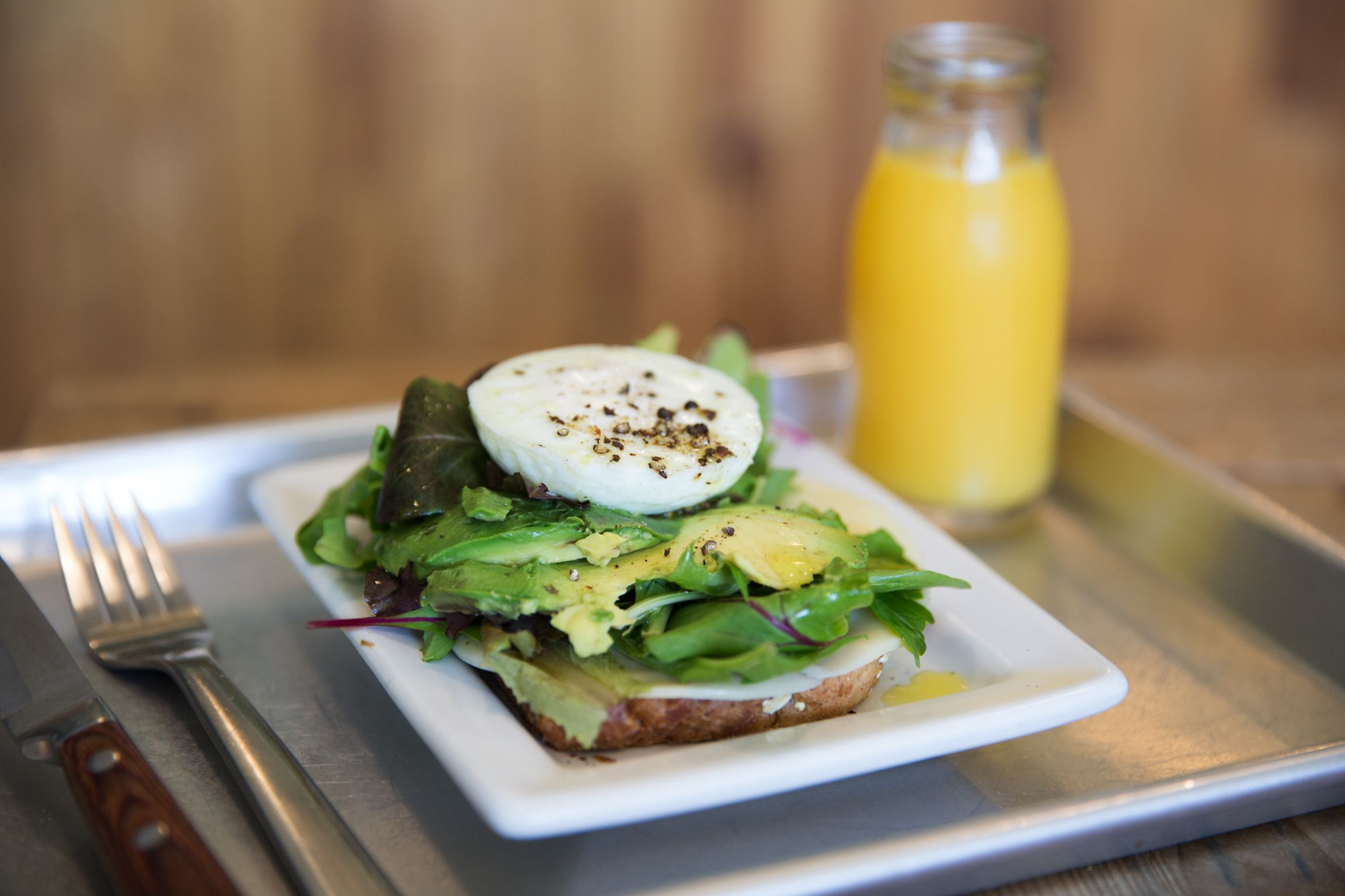 The Power Toast 1 egg ( 9am - 11Am) Image
