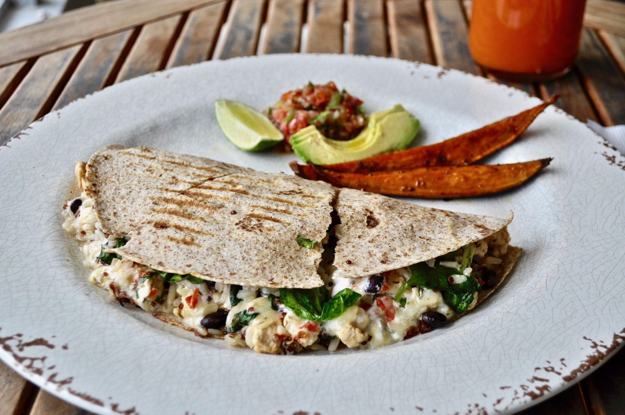 Fri - The ultimate chicken quesadilla Image