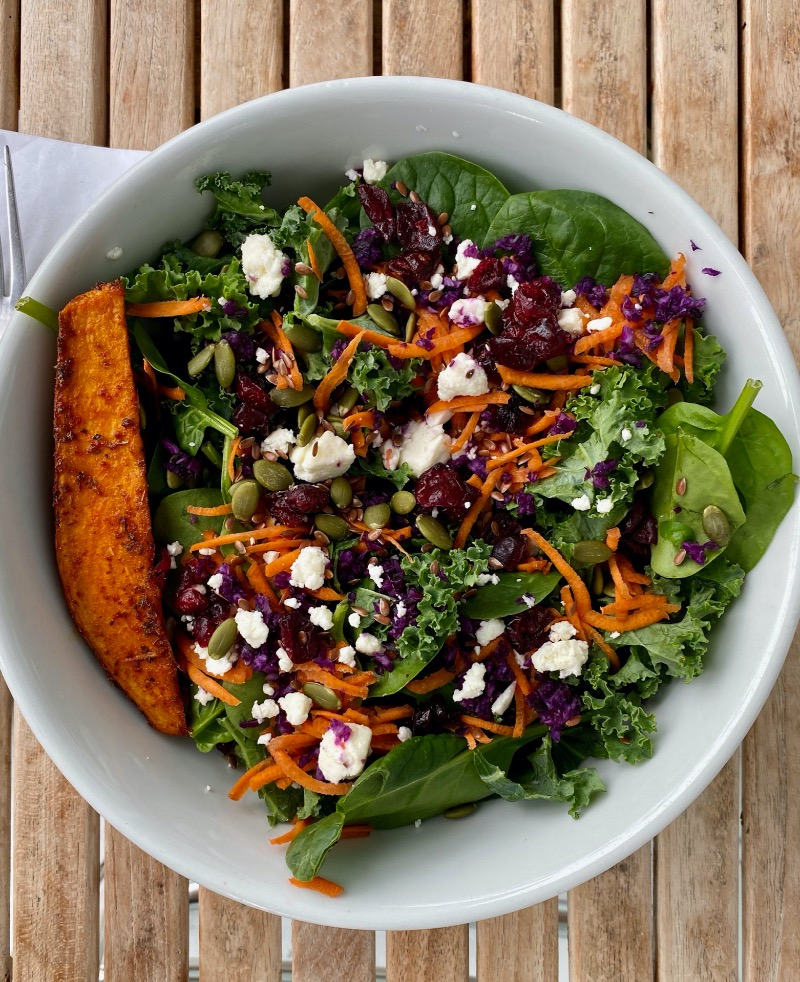 Kale Spinach Salad
