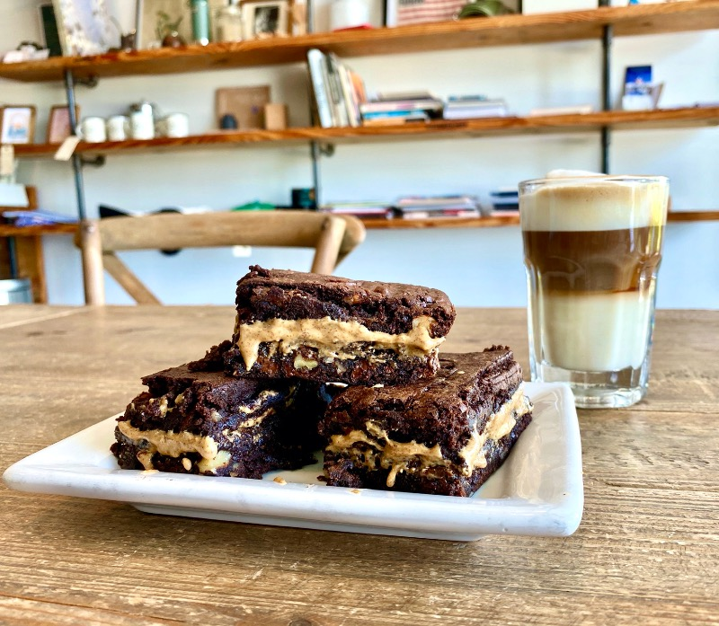 House-made Chocolate almond butter Brownies Image