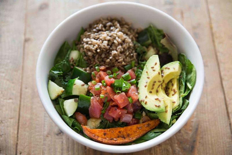 Thu - Poke bowl Salad Image