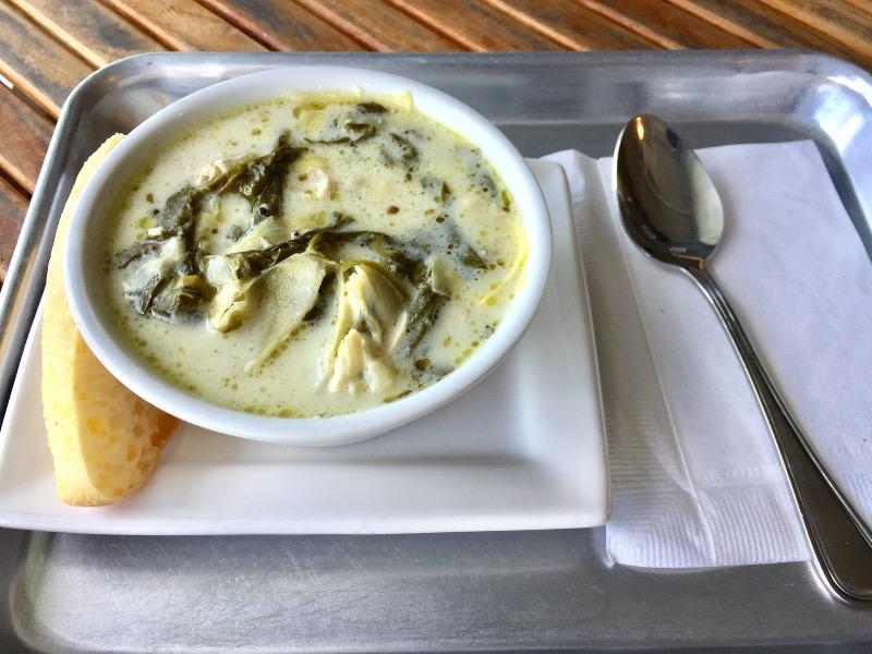 Mon-Chicken artichoke and spinach Image