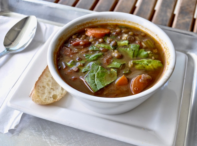 Wed - Organic French lentils soup Image