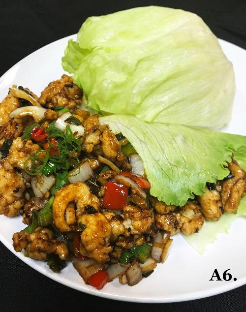 A6. Chicken Lettuce Wrap Image