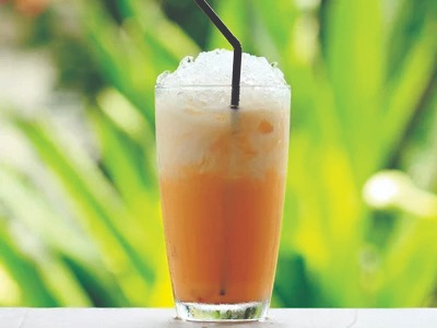 24 oz Thai Tea with Ice Image
