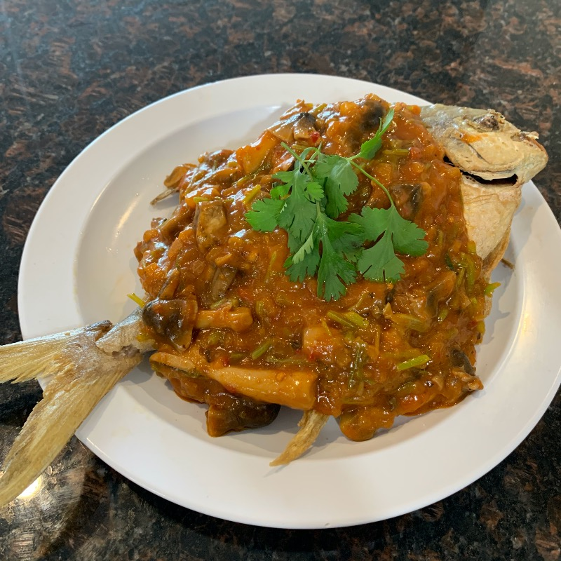 SP4. Fried Pampano Image
